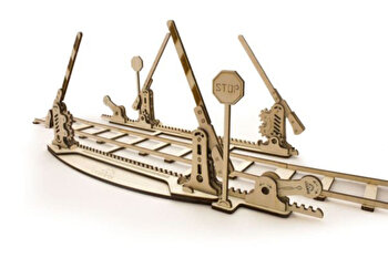 Puzzle 3D - Sine tren, 200 piese