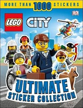 LEGO City Ultimate Sticker Collection, Paperback/*** poza cate