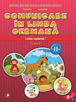 Manual. Limba moderna germana. Clasa I. Semestrul al II-lea/***
