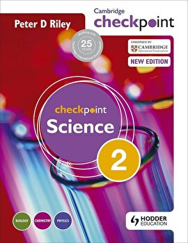 Cambridge Checkpoint Science Student's Book 2, Paperback/Peter Riley imagine