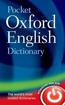 Pocket Oxford English Dictionary, Hardcover/Oxford Dictionaries image0