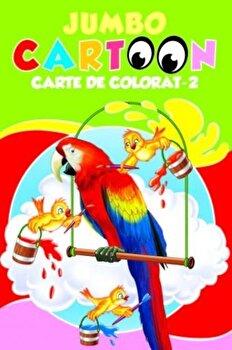 Imagine Jumbo Cartoon - Carte De Colorat - 2 - ***