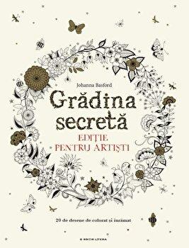 Coperta Carte Gradina secreta. Editie pentru artisti