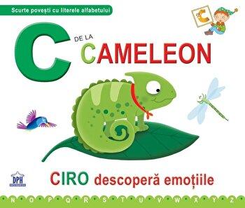 C de la camelon. Cartonata/Greta Cencetti, Emanuela Carletti imagine elefant.ro
