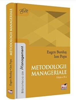 Metodologii manageriale. editia II- 2018/Eugen Burdus imagine