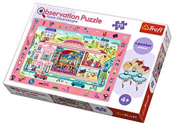 Puzzle de observatie - Vizita la opera, 70 piese