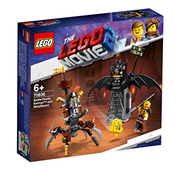 LEGO Movie 2, Batman si Barba metalica 70836
