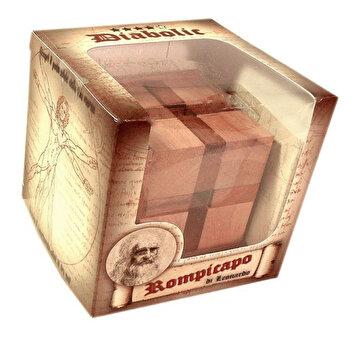 Puzzle din lemn - Diabolik - Leonardo da Vinci