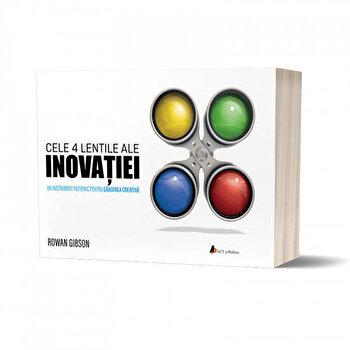 Cele 4 lentile ale INOVAtIEI: Un instrument puternic pentru gandirea creativa/Rowan Gibson imagine