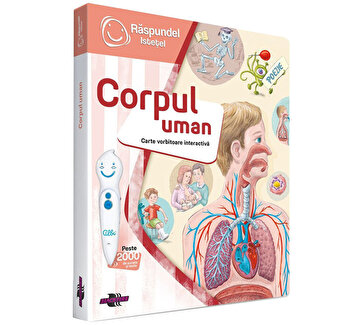 Carte interactiva Corpul uman
