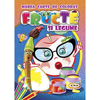 Marea carte de colorat - Fructe Si Legume-*** imagine