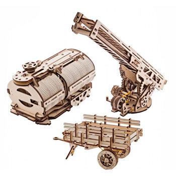 Puzzle 3D - Atasamente pentru camion, 322 piese