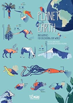 Planet Earth: Infographics for Discovering Our World, Hardcover/Federica Fragapane imagine