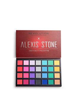 Paleta farduri pleoape Makeup Revolution x Alexis Stone Eyeshadow Palette, Instinct Palette, 33.6 g imagine produs