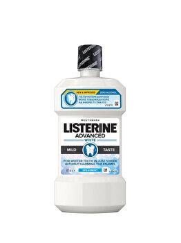 Apa de gura fara alcool Listeriene Advanced White, Mild, 500 ml imagine produs