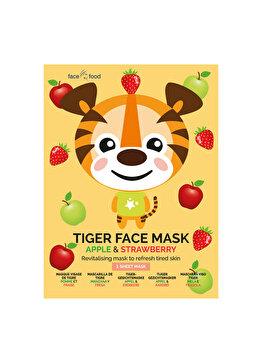 Masca de fata din material textil pentru adolescenti 7th Heaven Tiger imagine produs