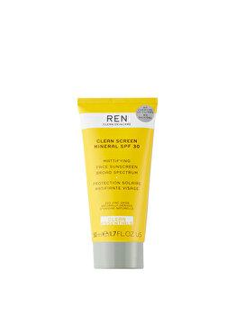 Crema de fata Ren Clean Screen Mineral Essentials SPF 30, 50 ml poza