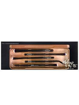 Set pensule pentru machiajul ochilor The Color Workshop Makeup is My Art imagine produs