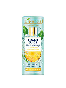 Hidro-esenta bioactiva cu citrice si ananas Bielenda Fresh Juice, 110 ml poza