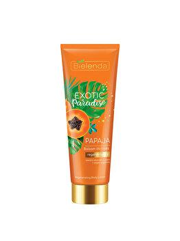 Balsam pentru corp regenerant cu papaya Bielenda Exotic Paradise, 250 ml imagine produs