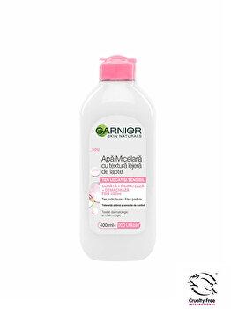 Apa micelara cu textura lejera de lapte Garnier Skin Naturals, 400 ml imagine produs