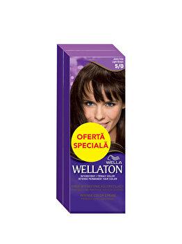 Pachet promo Wella (2 x Vopsea de par Wella Wellaton Color Intense, Saten Deschis 5/0) imagine produs