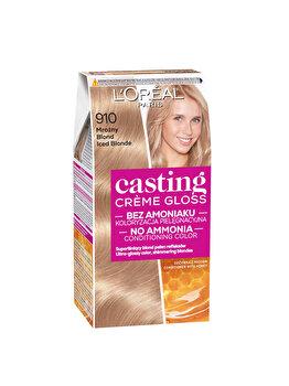 Vopsea de par semi-permanenta fara amoniac L'Oréal Casting Cr?me Gloss, 910 Blond Cenusiu, 180 ml imagine produs