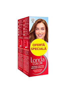 Pachet promo Londa (2x Vopsea de par, Blond Coniac 7/73) imagine produs