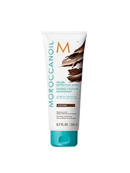 Masca de par nuantatoare Moroccanoil, Cocoa, 200 ml imagine produs