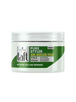 Gel de par Taft Pure Styler,pentru o coafura lejera nivel mediu de fixare , 150 ml imagine produs