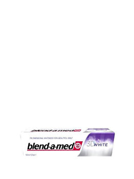 Pasta de dinti Blend-a-Med 3D White, 100 ml poza