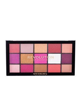 Paleta de farduri Makeup Revolution London Re-loaded, Red Alert imagine produs