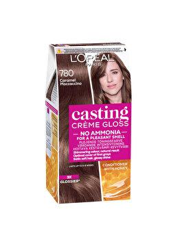 Vopsea de par semi-permanenta fara amoniac L'Oréal Casting Cr?me Gloss, 780 Caramel Moccacino, 180 ml imagine produs