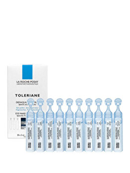 Demachiant pentru ochi La Roche-Posay Toleriane 30 fiole x 5 ml imagine produs