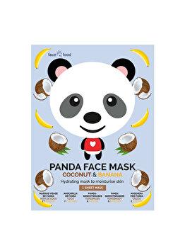 Masca de fata din material textil pentru adolescenti 7th Heaven Panda imagine produs
