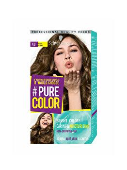 Vopsea de par Pure Color, nuanta DirtyBlond 7.0, 142 ml poza