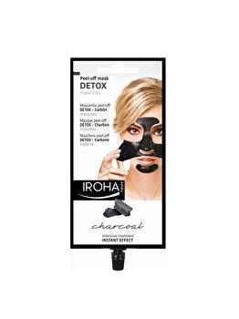 Masca detoxifianta pentru fata Iroha Peel-Off Detox Impurities Charcoal, 1 buc. imagine produs