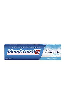 Pasta de dinti Blend-a-med 3D White Fresh Cool Water, 100 ml poza