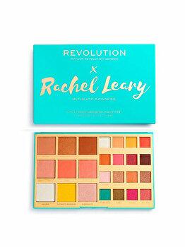 Paleta machiaj Makeup Revolution Rachel Leary x Eyeshadow Palette, Ultimate Goddess, 35.3 g imagine produs