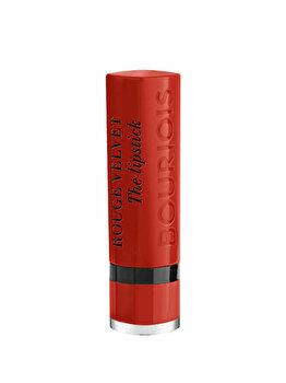 Ruj de buze Bourjois Rouge Velvet The Lipstick, 21 Grande Roux, 2.4 g imagine produs