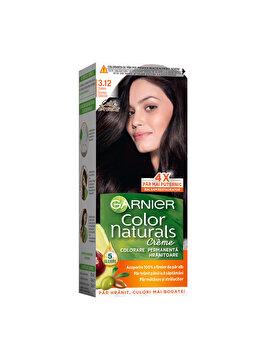 Vopsea de par permanenta Garnier Color Naturals, 3.12 Saten Inchis Glacial, 110 ml imagine produs