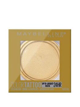 Fard de pleoape rezistent la apa Maybelline Color Tattoo 24H, 200 Golden Girl, 4 g imagine produs
