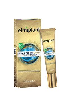 Crema antirid pentru ochi Elmiplant Hyaluronic Gold, 15 ml imagine produs