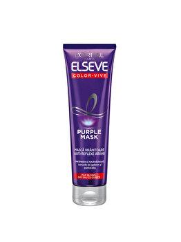Masca de par L'Oréal Paris Elseve Color Vive Purple, 150 ml imagine produs