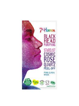 Masca de fata peel-off pentru femei 7th Heaven Stardust Cosmic Rose Quartz, 10 ml imagine produs