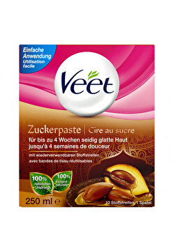 Ceara calda pentru depilare cu zahar Veet, 250 ml imagine produs