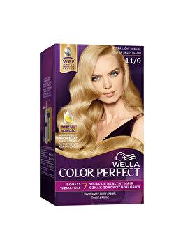 Vopsea de par Wella, Perfect Kit 11/0 Extralight Blond, 120 ml imagine produs