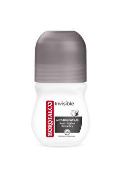 Deodorant roll-on Borotalco Invisible, 50 ml imagine produs