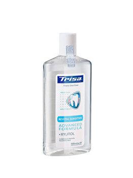 Apa de gura Trisa Revital Sensitive +Xylito, 500 ml imagine produs