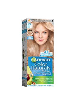 Vopsea de par permanenta Garnier Color Naturals, 102 Blond Glacial Irizat, 110 ml imagine produs
